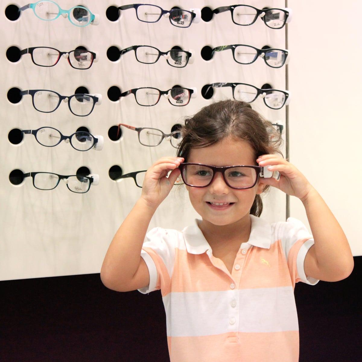 Oftalmología Cómo Ayudar A Los Niños A Elegir Las Gafas 0738d4c1e367
