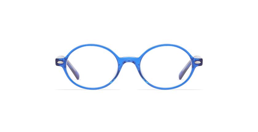 Gafas graduadas niños LAYAN azul - vista de frente