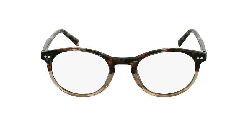 Gafas graduadas VIVALDI marrón - vista de frente