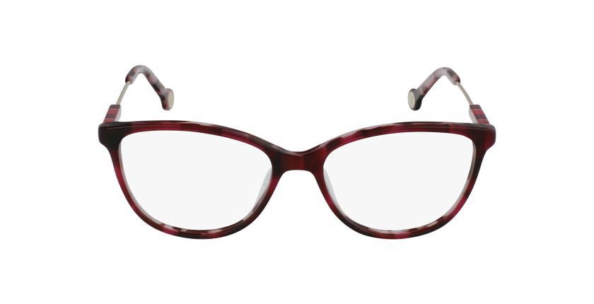 Gafas graduadas mujer VHE847L rojo/carey - vista de frente