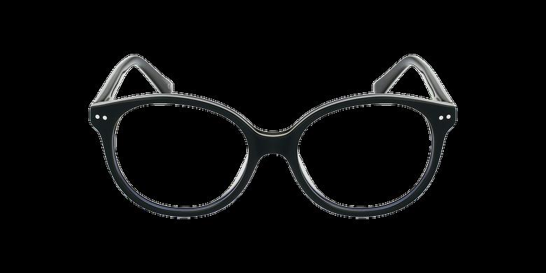 Gafas graduadas niños SAMANTHA verde/negrovista de frente