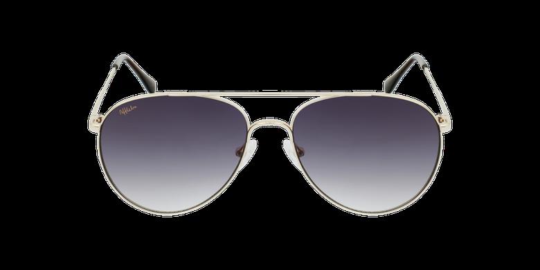 Gafas de sol MUSA doradovista de frente