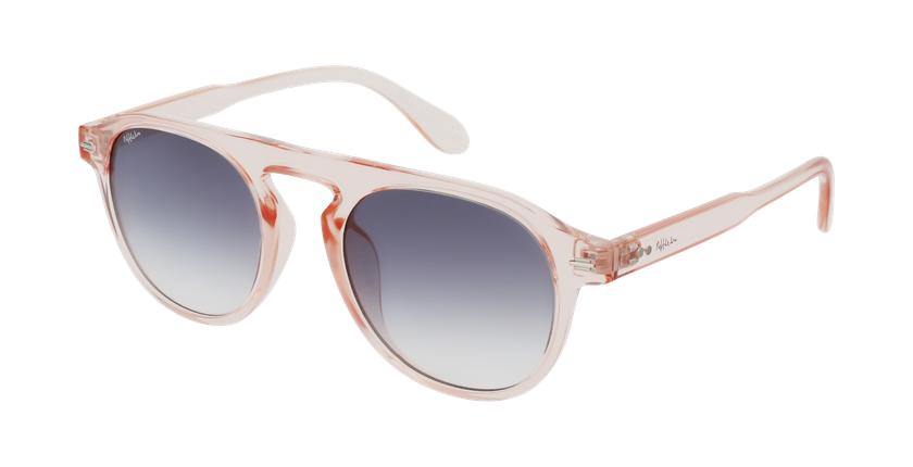 Gafas de sol BEACH rosa - vue de 3/4