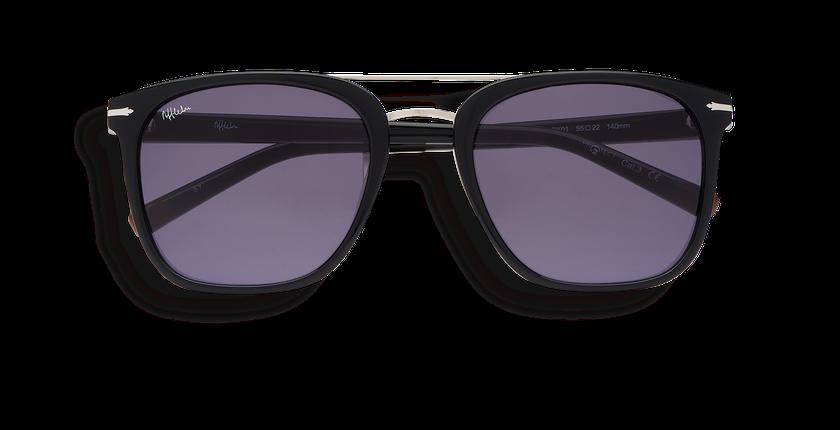 Gafas de sol hombre DARWIN negro - vista de frente