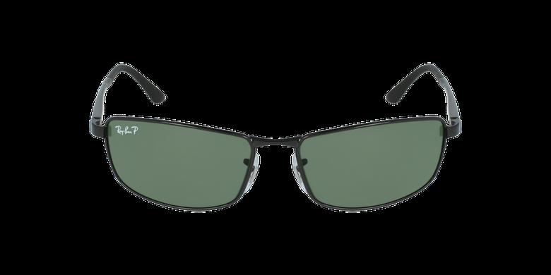Gafas de sol hombre 0RB3498 negrovista de frente