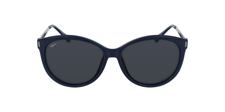Gafas de sol mujer ZAFRA azul/plateado