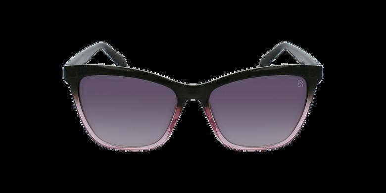 Gafas de sol mujer STOA23 rosa/grisvista de frente