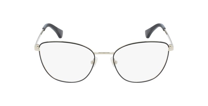 Gafas graduadas mujer RA6046 negro/dorado - vista de frente