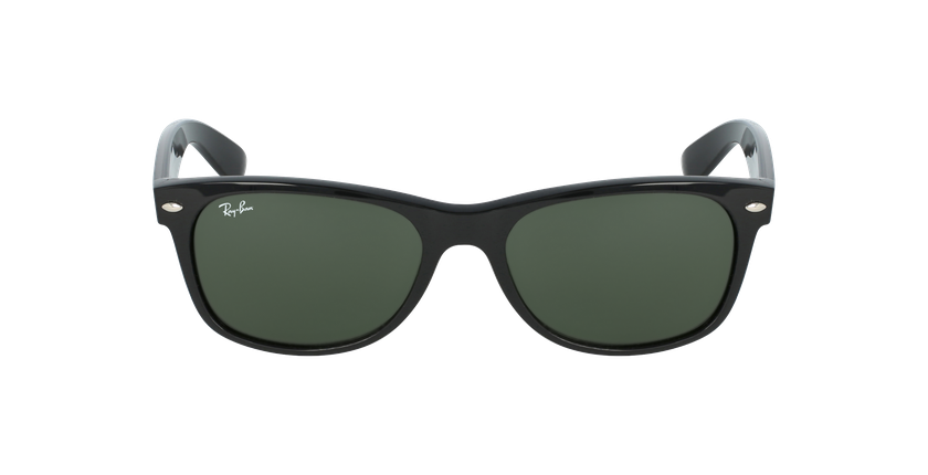 Gafas de sol hombre NEW WAYFARER negro/negro - vista de frente