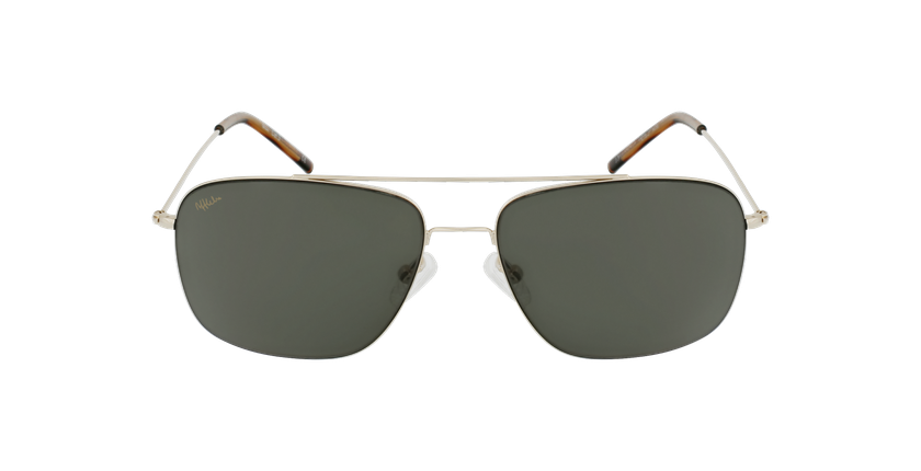 Gafas de sol hombre ANDILLA dorado - vista de frente