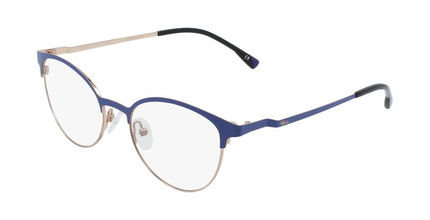 Gafas graduadas mujer MAGIC 54 BLUEBLOCK morado/dorado - vue de 3/4