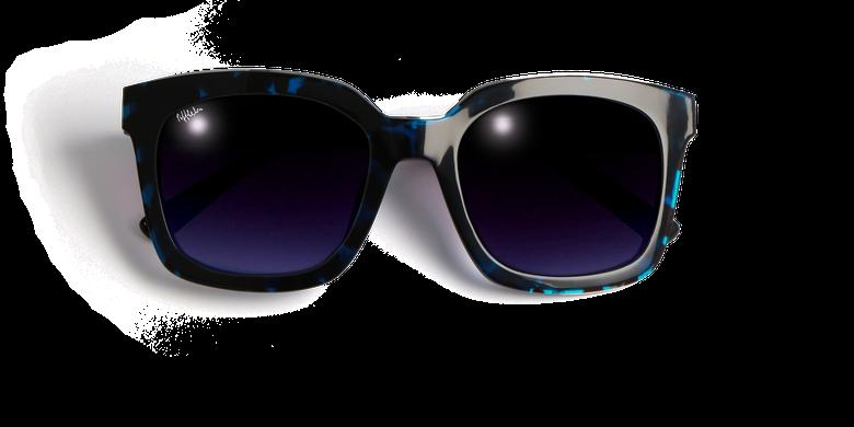 Gafas de sol mujer CECILE carey/azul
