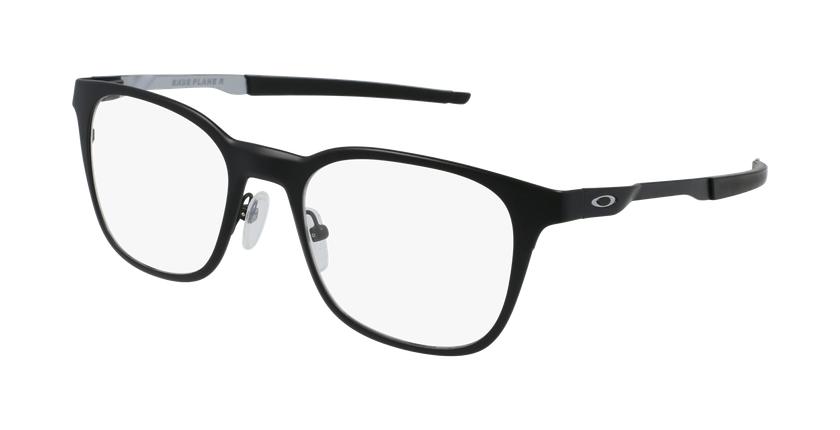 Gafas graduadas hombre 0OX3241 negro/gris - vue de 3/4