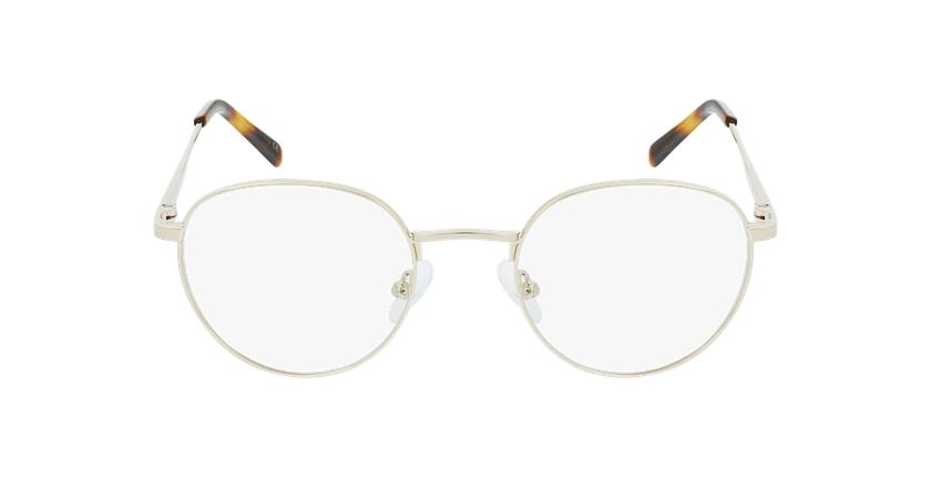 Gafas graduadas hombre MARIN dorado - vista de frente