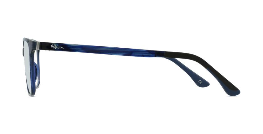 Gafas graduadas mujer MAGIC 60 BLUEBLOCK azul/morado - vista de lado