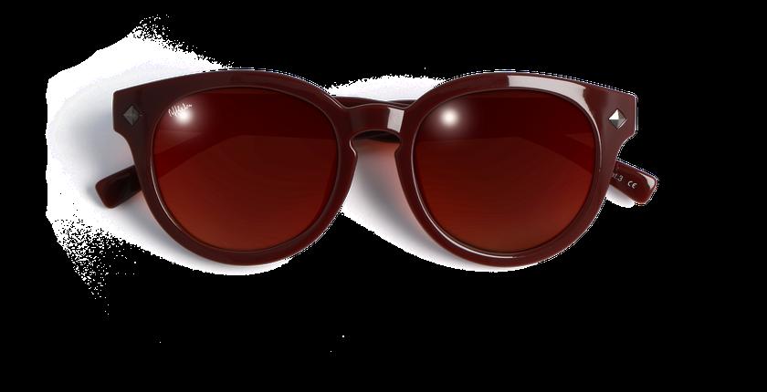 Gafas de sol mujer CHARLOTTE rojo - vista de frente