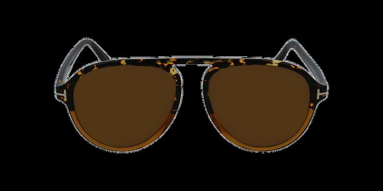 Gafas de sol hombre TONY marrónvista de frente