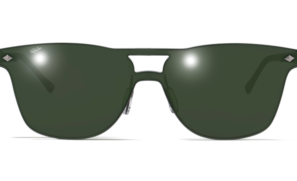 Gafas de sol hombre COSMOS1 verde - danio.store.product.image_view_face