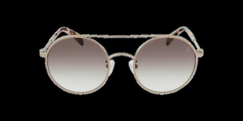 Gafas de sol mujer STO408 dorado/rosavista de frente