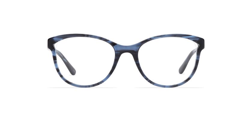 Gafas graduadas mujer MADELINE azul - vista de frente