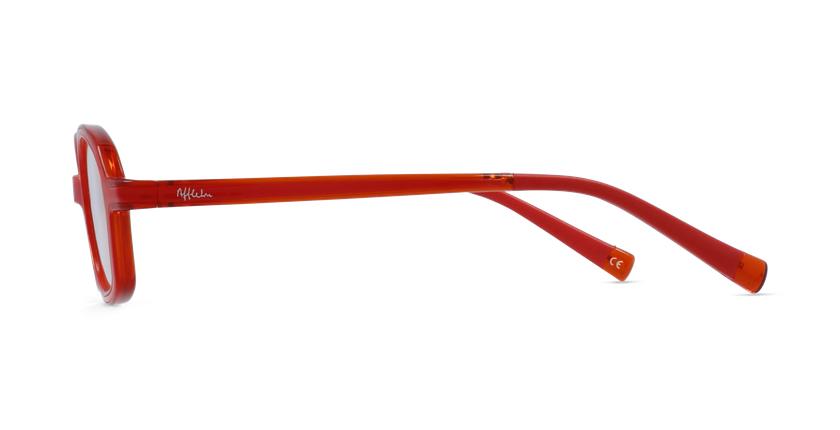 Gafas graduadas niños RFOM2 rojo/naranja - vista de lado