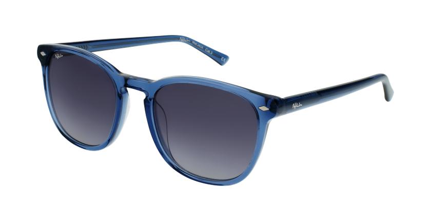 Gafas de sol JACK azul/blanco - vue de 3/4