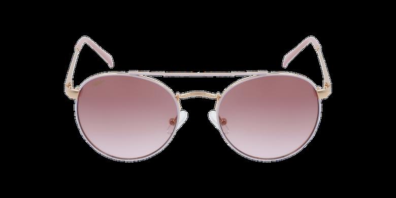 Gafas de sol niños SANTIAGO - NIÑOS rosa/doradovista de frente