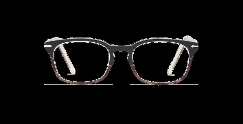 Gafas graduadas hombre BELLIGNAT negro - vista de frente