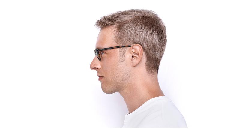 Gafas graduadas hombre RENAN carey - vista de lado