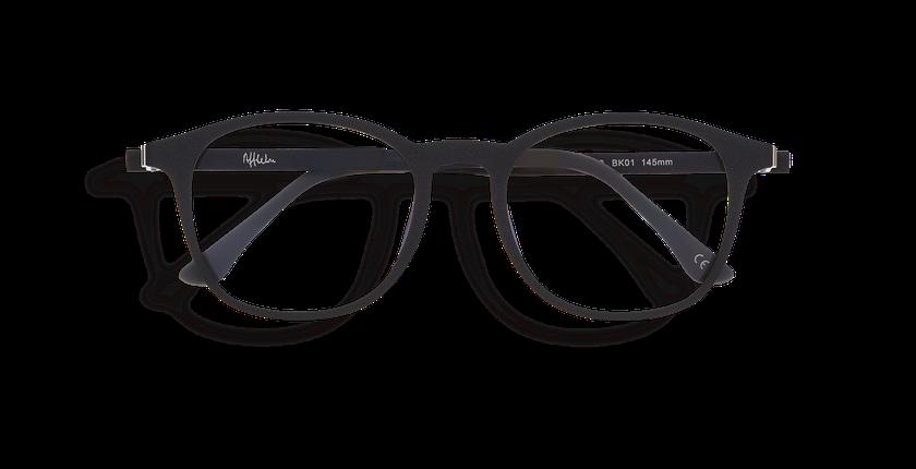 Gafas graduadas hombre MAGIC 25 BLUE BLOCK negro - vista de frente