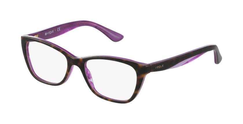 Gafas graduadas mujer VO2961 verde - vue de 3/4