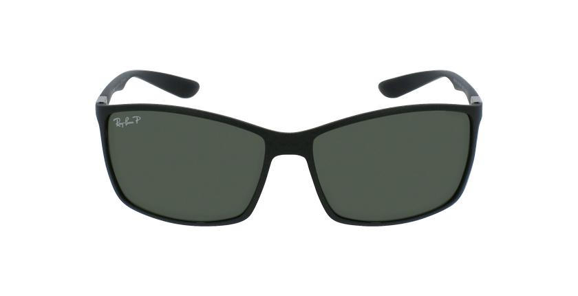 Gafas de sol hombre LITEFORCE negro - vista de frente