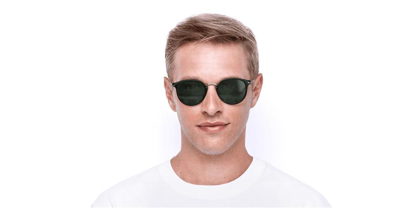 Gafas de sol hombre 0PO3210S negro - vista de frente