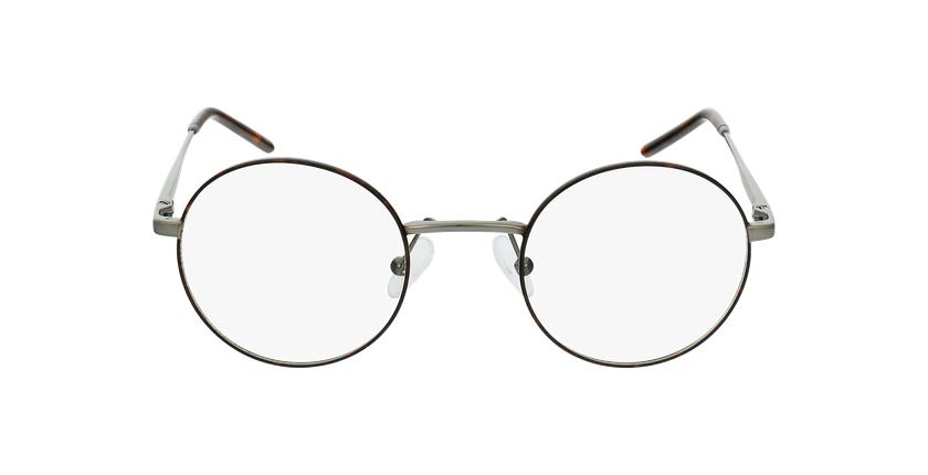 Gafas graduadas hombre SVEN carey/plateado - vista de frente