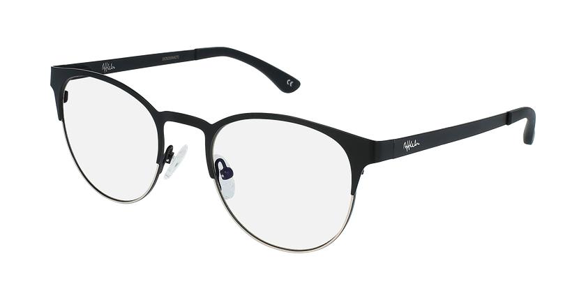 Gafas graduadas mujer MAGIC 44 BLUEBLOCK negro/dorado - vue de 3/4
