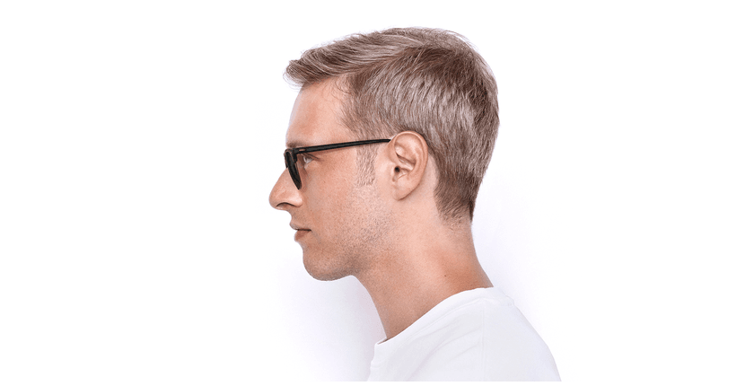 Gafas de sol CLUBMASTER marrón/carey - vista de lado