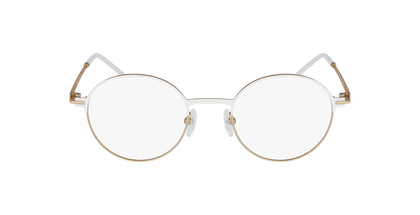 Gafas graduadas mujer VENUS blanco/beige - vista de frente