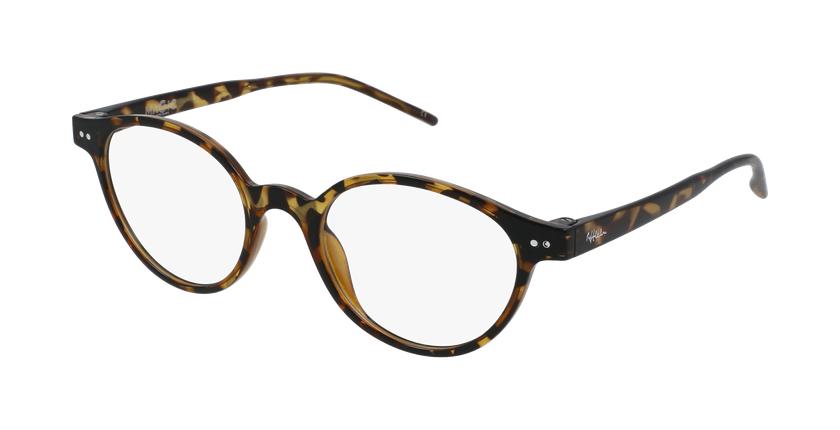 Gafas graduadas mujer MAGIC 49 BLUEBLOCK carey - vue de 3/4