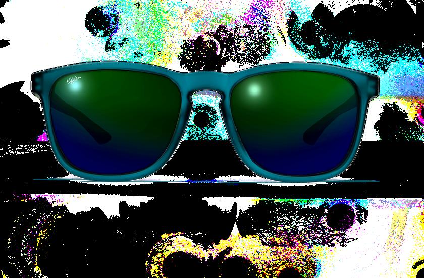 Gafas de sol JERRY POLARIZED verde - danio.store.product.image_view_face