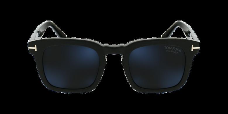 Gafas de sol hombre DAX negrovista de frente