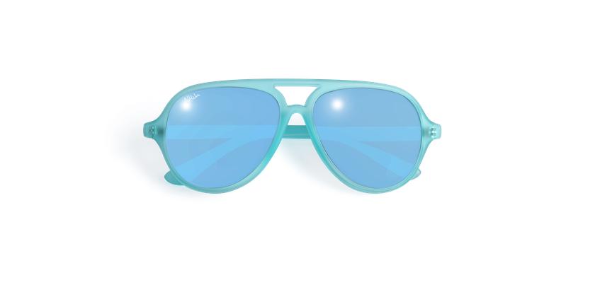 Gafas de sol niños RONDA - NIÑOS verde - vista de frente