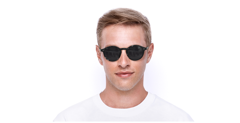 Gafas de sol LOIS carey/negro - vista de frente