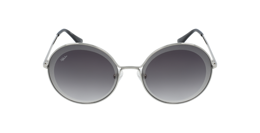Gafas de sol mujer GIRONA plateado - vista de frente