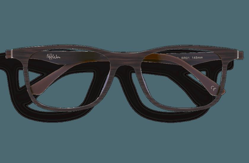 Gafas graduadas hombre MAGIC 24 BLUE BLOCK marrón - danio.store.product.image_view_face