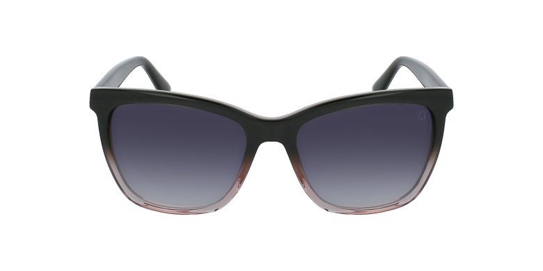 Gafas de sol mujer STOA02 rosa/grisvista de frente