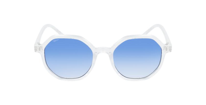 Gafas de sol mujer DELFIA blanco - vista de frente