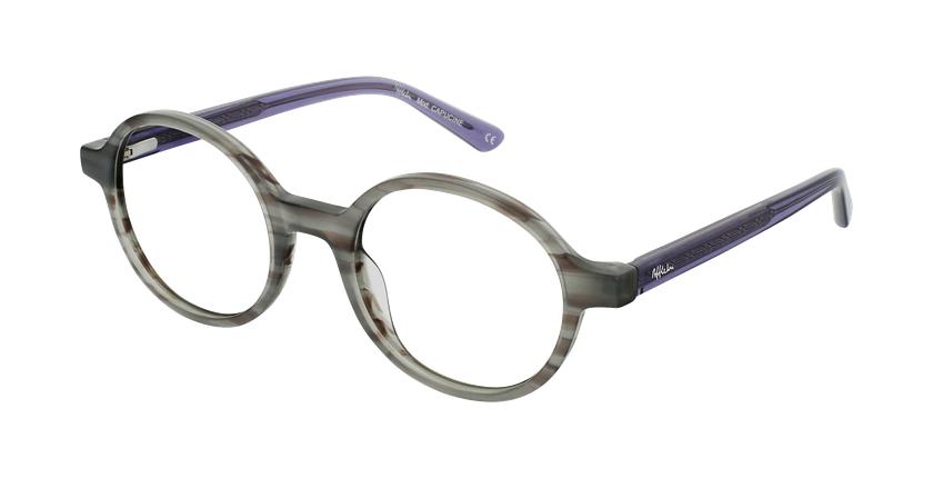 Gafas graduadas mujer OAF21619 gris - vue de 3/4