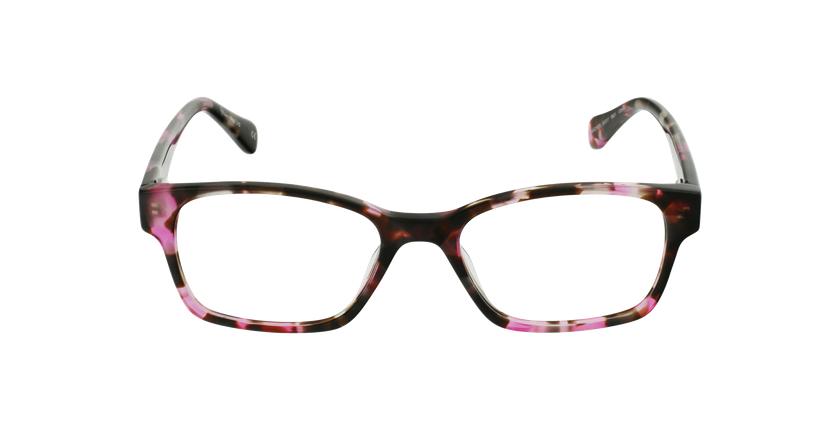 Gafas graduadas mujer LYS carey/rosa - vista de frente