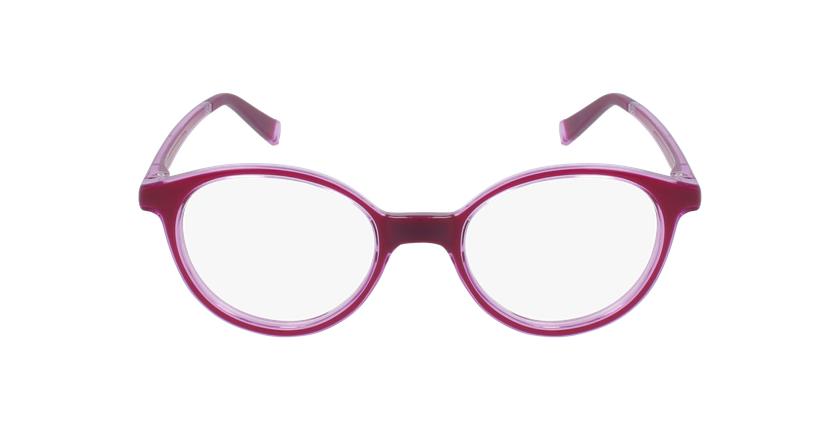 Gafas graduadas niños RFOP2 rosa - vista de frente