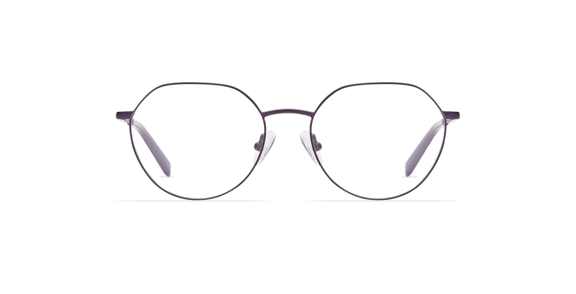 Gafas graduadas mujer SELENA morado - vista de frente